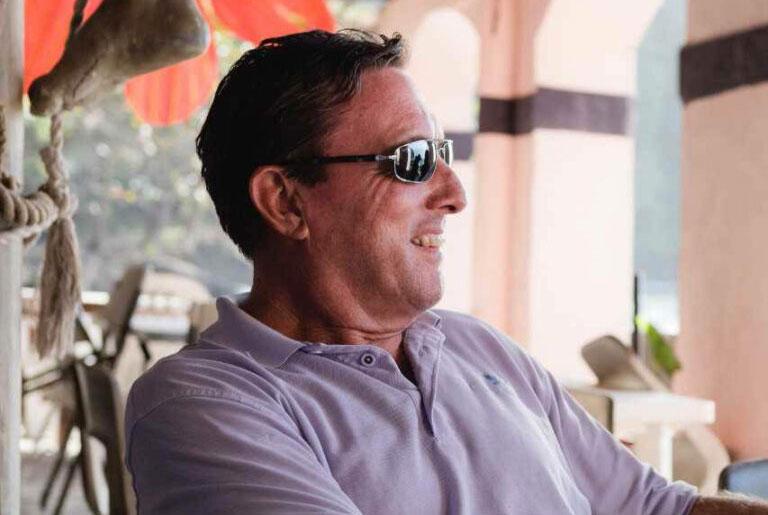 Simon Carey, COO for &Beyond Yacht Charters