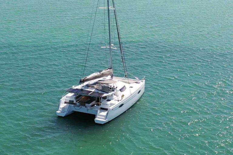 IREMIA private yacht sailing in the US Virgin Islands