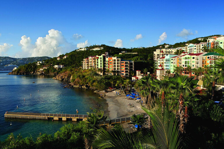 Exterior of Marriot Frenchman's Cove in St. Thomas, USVI