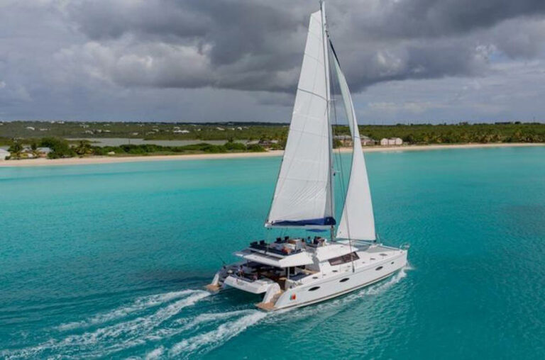 True Story yacht sailing in the Virgin Islands
