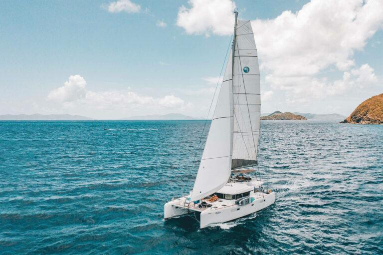 Felix charter yacht sailing in the US Virgin Islands